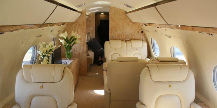 Gulfstream G650 interior
