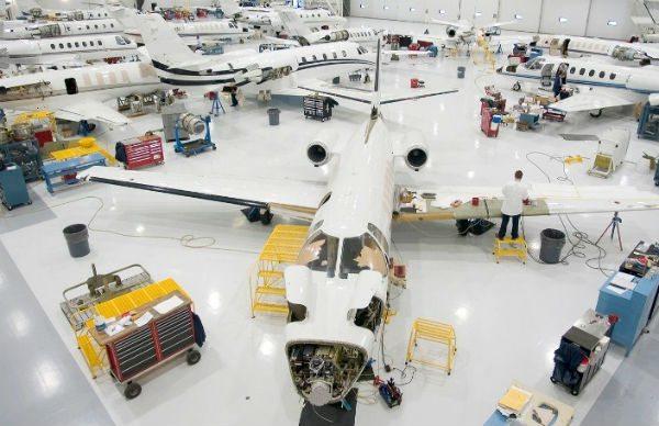 Cessna factory