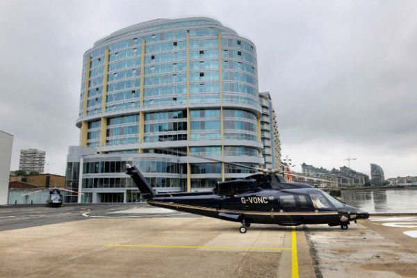 Formerly known as Battersea Heliport, The Barclays London Heliport is London's only licensed heliport.