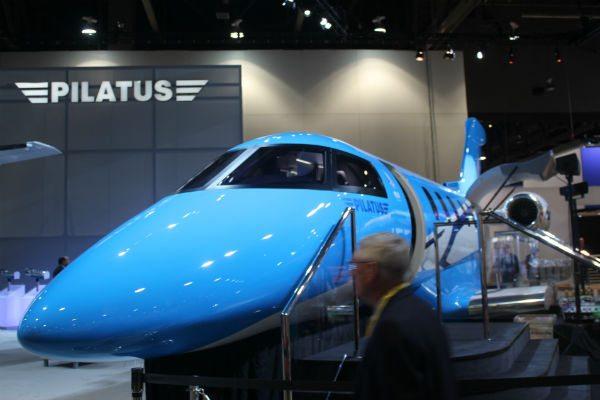 The Pilatus PC-24 at NBAA 2013.