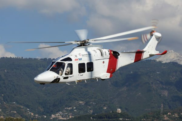 AgustaWestland AW169 flying