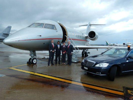 First VistaJet Bombardier Challenger 604 handled by Jet Aviation Geneva