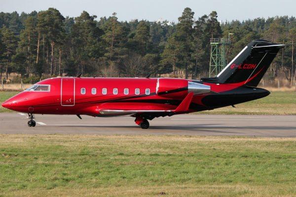 Lewis Hamilton private jet G-LCDH