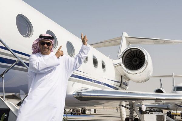 Private Jet Shopping Business Aircraft At Dubai Airshow 2013  Corporate Jet