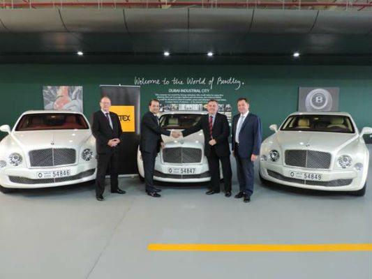 Jetex and Bentley Motors Middle East