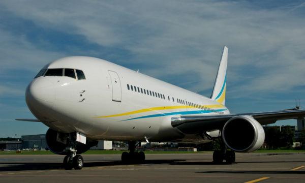 Fly Comlux 767 BBJ