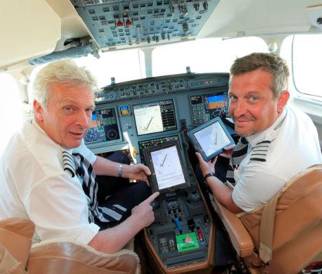 TAG Aviation introduces paperless cockpit on fleet in Geneva, Switzerland