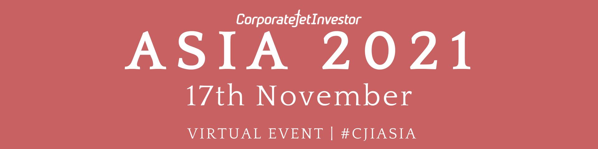Corporate Jet Investor Asia 2021