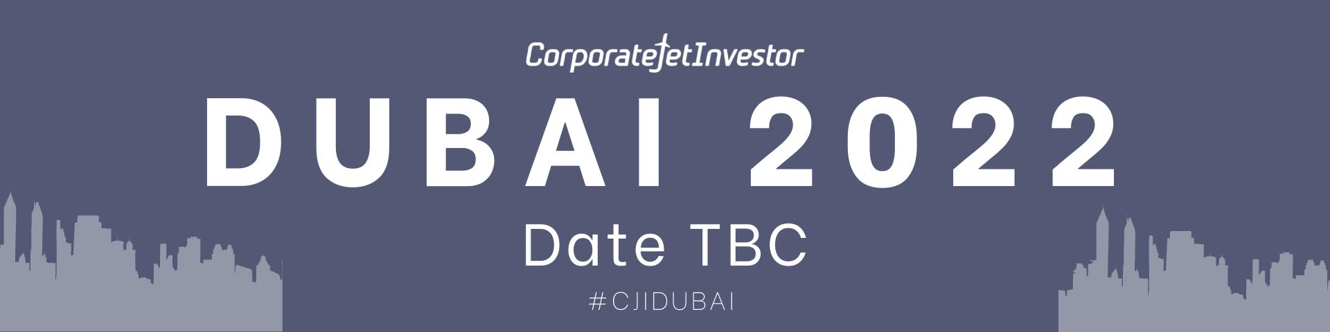 Corporate Jet Investor Dubai 2022